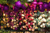 Christmas market at Rathausplatz, Vienna, Austria — Stock Photo