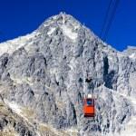 Cable car to Lomnicky Peak, Vysoke Tatry (High Tatras), Slovakia — Stock Photo #61106837