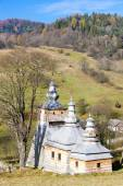 Holzkirche, dubne, polen — Stockfoto