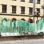 Main Market Square with modern fountain, Wroclaw, Silesia, Polan — Stock Photo #62265501