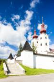 Fortified church of All Saints, Divin, Slovakia — Stock Photo