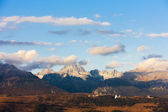 Krivan Mountain and Western part of High Tatras, Slovakia — Stock Photo