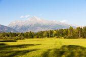 Krivan Mountain, Vysoke Tatry — Stock Photo