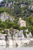 Church near Pont Mirabeau, Provence — Foto de Stock