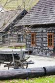 Cicmany view, Slovakia — Stockfoto