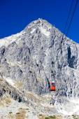 Cable car to Lomnicky Peak, Vysoke Tatry — Stock Photo