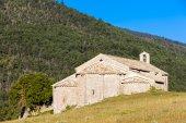 Chapel Notre-Dame near Vergons, Provence, France — Stok fotoğraf