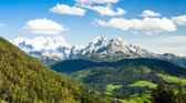 Dachstein from the west, Upper Austria-Styria — Stock Photo