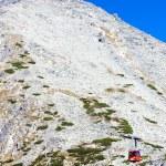 Cable car to Lomnicky Peak, Vysoke Tatry (High Tatras), Slovakia — Stock Photo #69083839