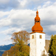 Fortified church in Liptovske Matiasovce, Slovakia — Stock Photo #69085115