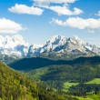 View to Dachstein from the west, Upper Austria-Styria, Austria — Stock Photo #69085553