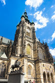 Cathedral of St. Vitus, Wenceslas and Vojtech in Prague Castle,  — Стоковое фото