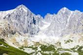 Lomnicky Peak and its surroundings, Vysoke Tatry (High Tatras),  — Stock Photo