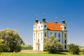 Pilgrimage chapel of Saint Florian, Moravsky Krumlov, Czech Repu — Stock Photo