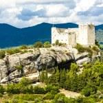 Ruins of castle in Vaison-la-Romaine, Provence — Stock Photo #69705201