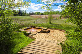 Emperor''s spring, nature reserve called Soos — Stock Photo