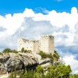 Ruins of castle in Vaison-la-Romaine, Provence, France — Stock Photo #71489233