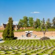 Small Fortress Theresienstadt with cemetery, Terezin — Stock Photo #71489709