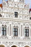 Renaissance house in Telc, Czech Republic — Stockfoto