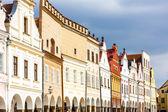 Renässansen hus i telč, tjeckien — Stockfoto