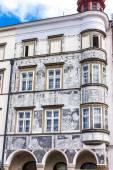 House at Namesti Miru, Jindrichuv Hradec, Czech Republic — Stockfoto
