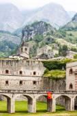 Fortress in Vinadio, Piedmont, Italy — Stock Photo