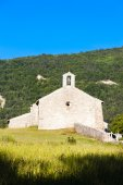 Chapel Notre-Dame near Vergons, Provence, France — Stock Photo