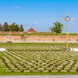 Small Fortress Theresienstadt with cemetery, Terezin — Stock Photo #73084117