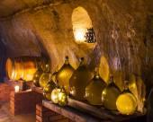 Wine cellar, Czech Republic — Stock Photo