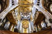 Interior of Parma Cathedral, Emilia-Romagna, Italy — Stock Photo