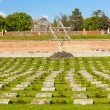 Small Fortress Theresienstadt with cemetery, Terezin — Stock Photo #76710757