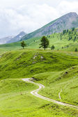 Landscape of Piedmont near French borders, Italy — Stock Photo