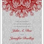 Wedding Invitation Template — Stock Vector #68459689