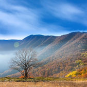 осень в горах — Стоковое фото