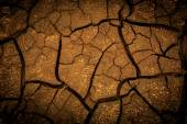 Abstract background with cracked earth — Stock Photo