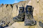 Tourists boots — Fotografia Stock