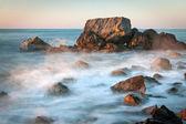 Sea scene on early morning — Stock Photo