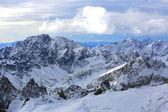 Hight mountains — Stock Photo