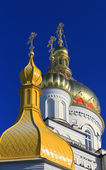 Pochaev's Lavra Cupola at nice day — Stock Photo