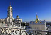 Pochaev's Lavra at winter time — Stock Photo