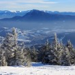 Mountain winter scene — Stock Photo #72443015