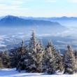Winter landscape in mountains — Stock Photo #72443011