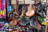 Flea market Waterlooplein in Amsterdam — Stock Photo