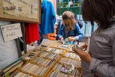 Flea market Waterlooplein in Amsterdam — Stockfoto