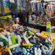 Flea market Waterlooplein in Amsterdam — Stock Photo #56479441
