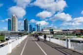 New modern skyscrapers in Vilnius — Stock Photo