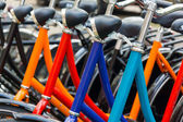 New bicycles for sale — Stock Photo