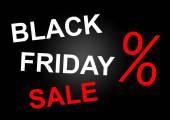 černý pátek prodej — Stock fotografie