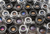 Soviet lenses set — Stock Photo