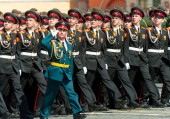 Militärparade in Moskau, 2015 — Stockfoto